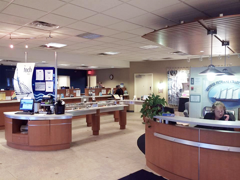 BFCU-interior - Brewer Federal Credit Union