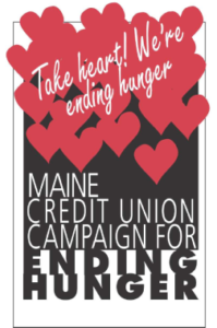 Maine Credit Union Campaign for Ending Hunger logo